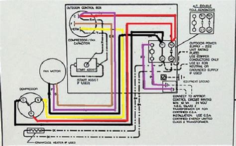 wiring diagram for goodman ac package unit wiring get