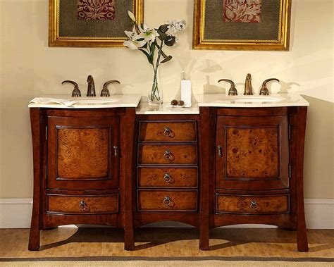 Bathroom Bowl Vanities 67 quot dual bath vanity lavatory sink bowl cabinet