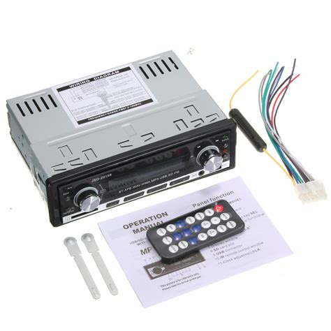 Mp3 Fm Radio Jsd 520 jsd 520 bluetooth vehicle car mp3 player stereo with fm