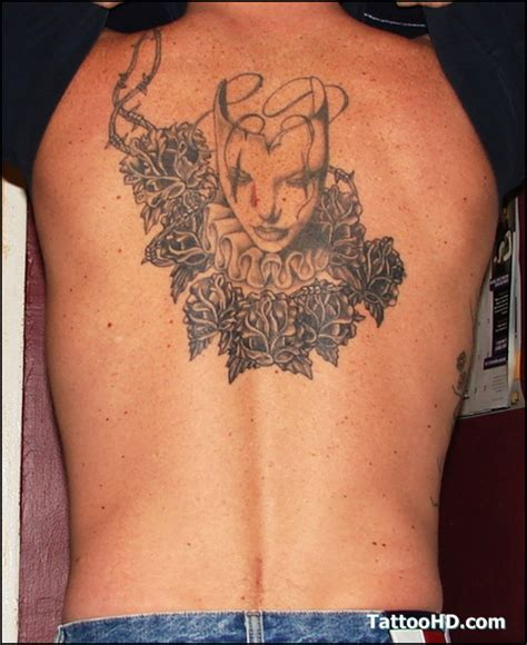 girly back tattoos feminine on back