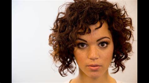 bob haircut  curly hair   road education