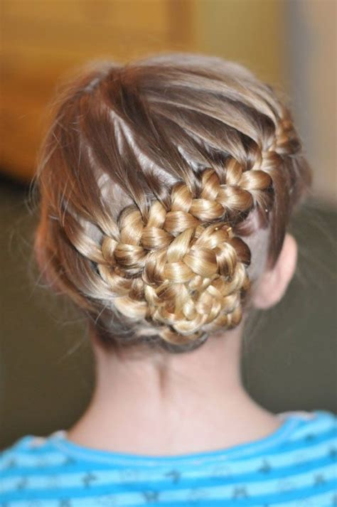 lovely braided hairstyles  kids pretty designs