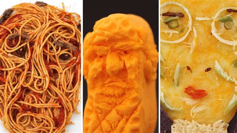 donald trump food donald trump on a circus peanut and more food art with a