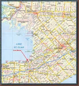 southwest canada map ontario muskie guides