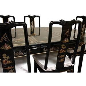 oriental furniture fine asian style dining room furniture lacquer dining room set black mother of pearl asian