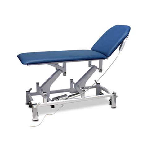 electric examination couch bristol maid electric two section treatment and