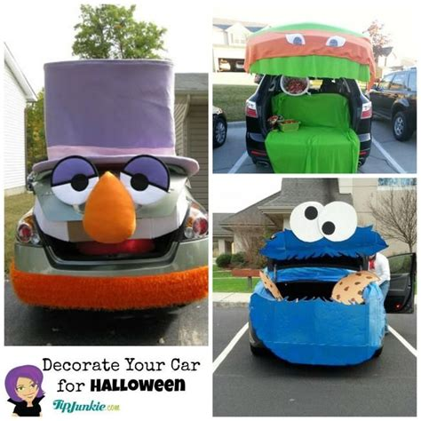 halloween themes for trunk or treat decorate your car for halloween and be the best car at