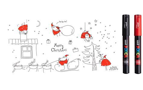 winter themed drawing winter crafts christmas drawings ideas uniball