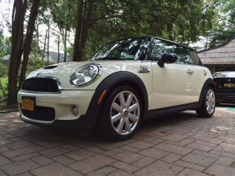 purchase used 2010 mini cooper s pepper white fully loaded