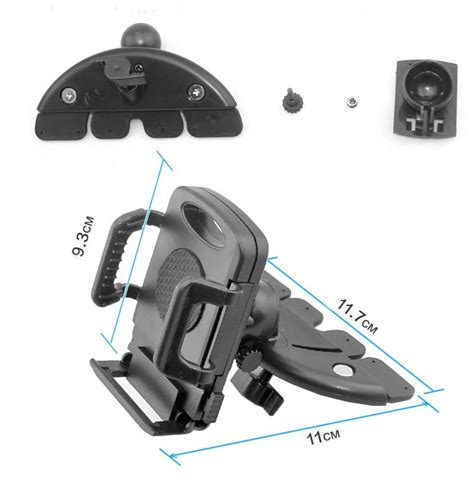Holder Motor Spion Stand Bracket Headpone Gps Untuk Smua Jenis M rotatable car cd slot mount bracket holder for iphone samsung cell phone gps ebay