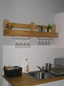 Kitchen Bookshelf Ideas Perfectly Matched Diy Kitchen Shelf 99 Pallets