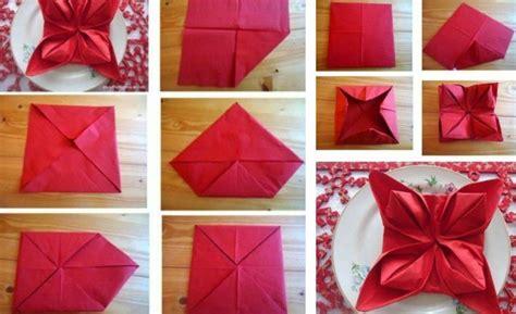 tischdeko weihnachten teller servietten falten zu weihnachten deko ideen und anleitung
