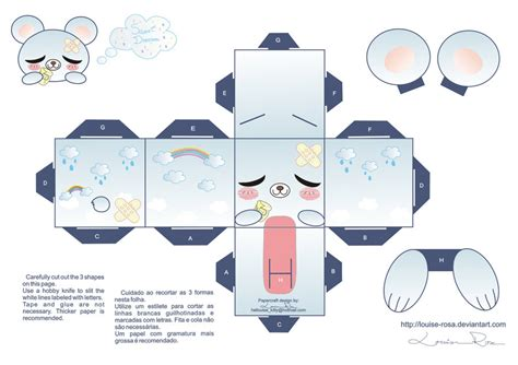 What Is Papercraft - papercraft sweet dreams by louise rosa on deviantart
