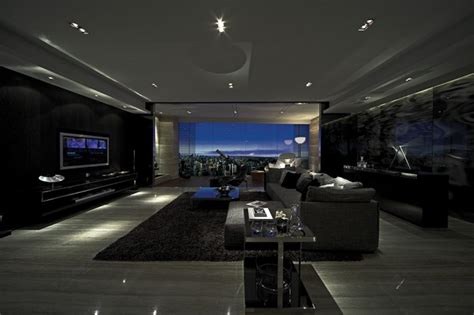 dark room ideas modern gray interior design home decorating excellence