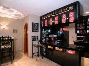 home theater snack bar decor home theater pinterest