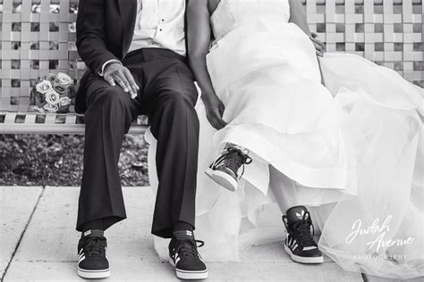 Wedding Sneakers by Wedding Sneakers Wedding Photographer In Virginia