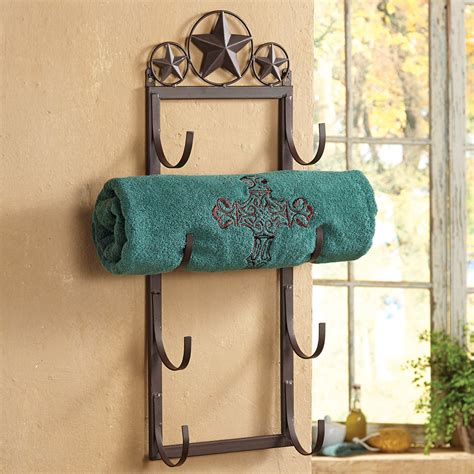 Towel Wall Rack by Lone Wall Door Mount Towel Rack
