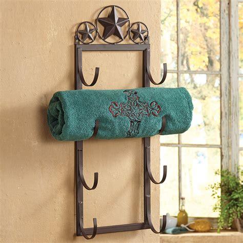 towel rack for bathroom wall lone star wall door mount towel rack