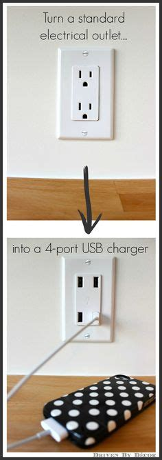 diy nightstand charging station diy charging station in nightstand banish clutter