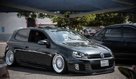 stanced volkswagen golf stanced vw golf vw mk6 pinterest volkswagen blog