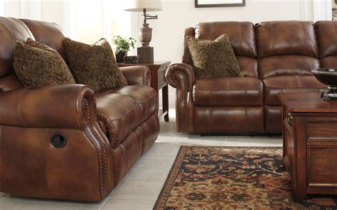walworth reclining sofa reviews walworth auburn reclining loveseat from ashley u7800186