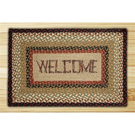 welcome rug print patch welcome jute rug