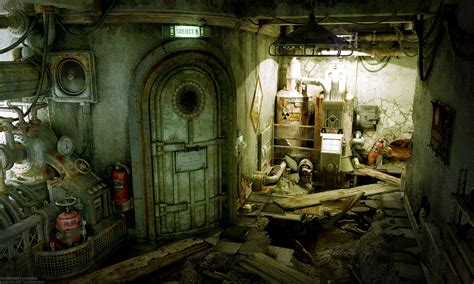 Chamber Experiment room ruins steampunk wallpaper 1600x960 228595 WallpaperUP