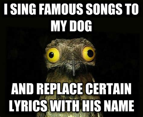 Vomits While Attempting To Sing Own Song by Livememe Stuff I Do Potoo