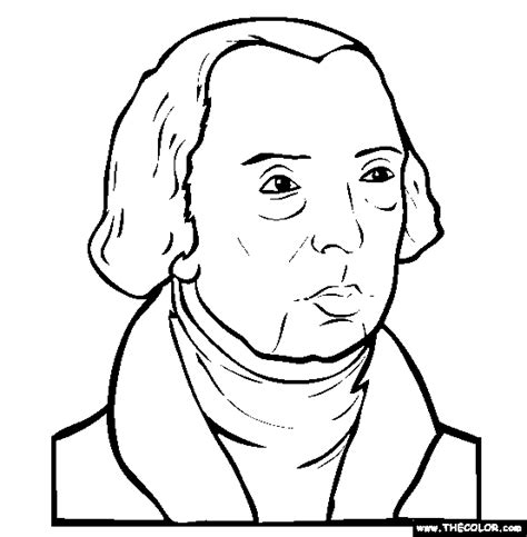 dolley madison coloring page coloring pages
