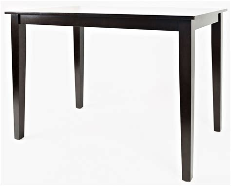 espresso counter height dining table simplicity espresso counter height dining table from