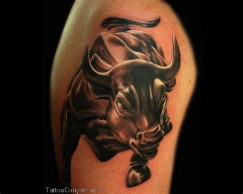 bull tattoos for men bull tattoos and designs page 220