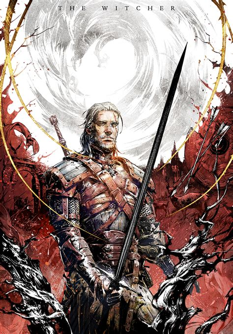 The Witcher Volume 1 novel cover the witcher vol 5 by xiling on deviantart