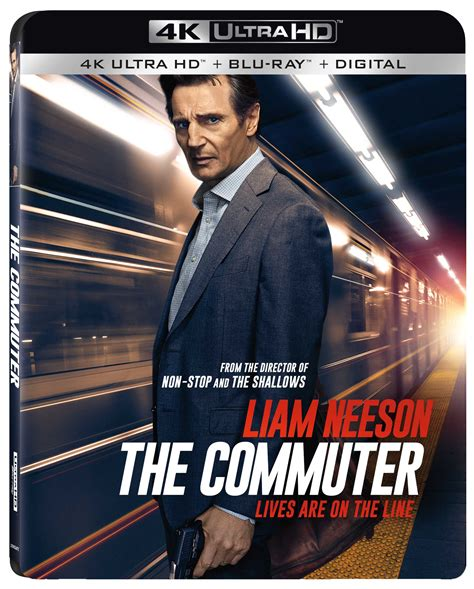 the commuter the commuter home release info nothing but geek