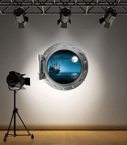 pirate ship bathroom full colour pirate ship porthole wall sticker decal kids