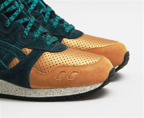 Asics X Concpet Three Lies concepts x asics gel lyte iii quot three lies quot sole collector