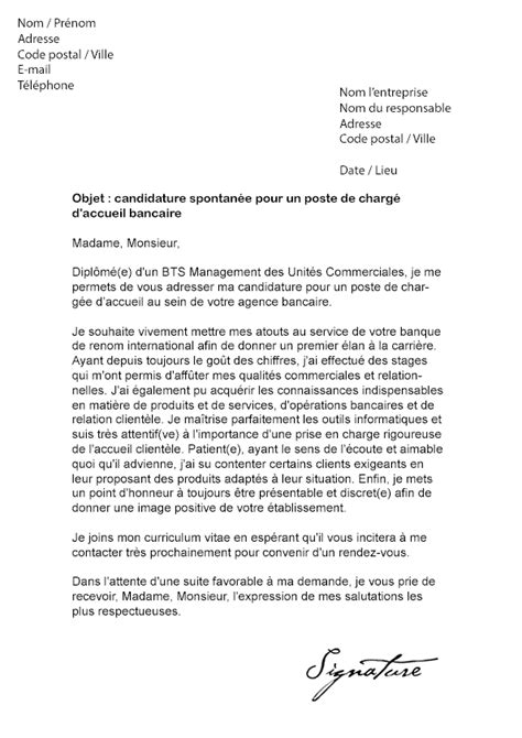 Lettre De Motivation Candidature Spontanée Agence D Interim Modele Lettre De Motivation Charge De Recrutement Document