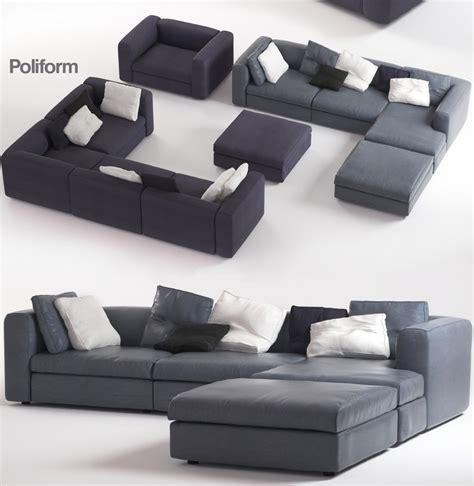 poliform dune sofa 3d poliform dune sofas