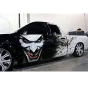Joker De Batman Est La Star Sur Ce 4x4 Am&233ricain Une Peinture