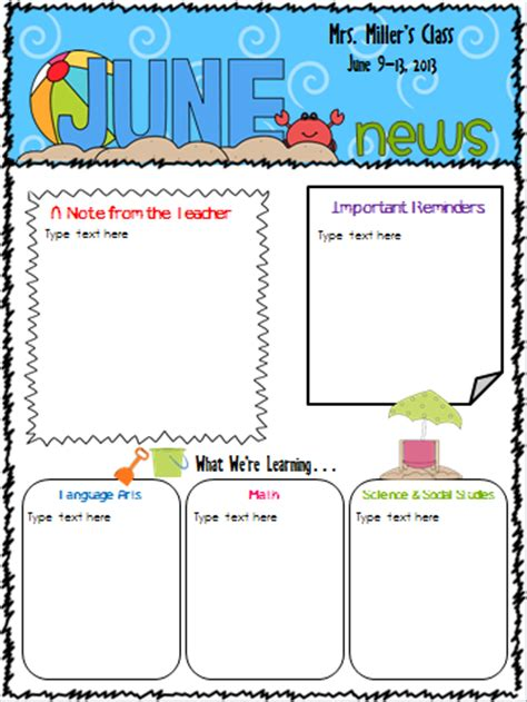 free april newsletter template the techie look what s new newsletter templates
