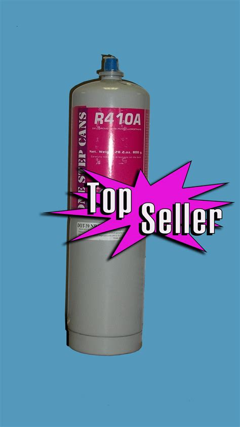 freon uses r410a refrigerant 28oz disposable one step can