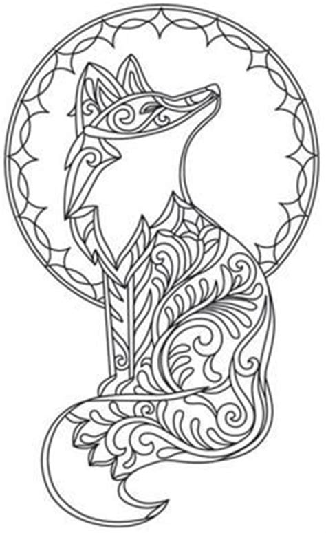 fox mandala coloring page 1000 images about coloring page on pinterest coloring