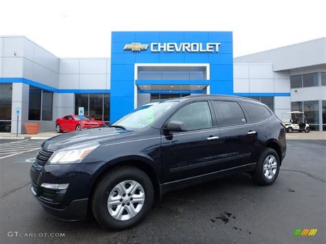 chevrolet traverse blue 2016 blue velvet metallic chevrolet traverse ls 110550284