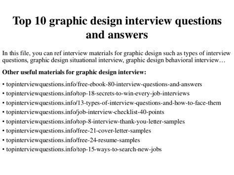 design questions top 10 graphic design interview questions and answers