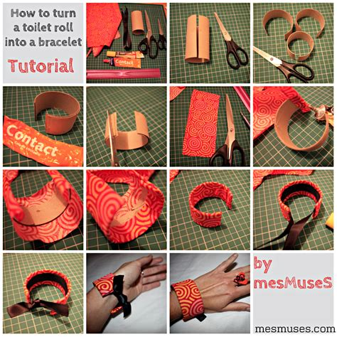 How To Make A Paper Roll - how to turn a toilet roll into a stunning bracelet 183 how