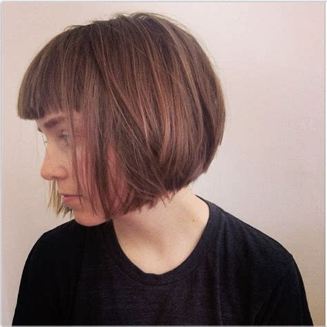 short layered bob sides feathered back 117 best images about hair on pinterest bob hairs bobs
