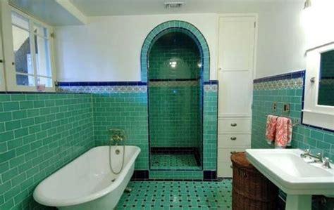 art deco bathroom tile 36 art deco green bathroom tiles ideas and pictures