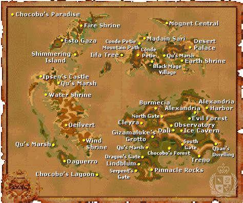 ff9 world map theme bar2ayunie ix world map