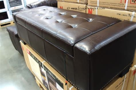 Noble House Chelsea Storage Ottoman Costco Noble House Chelsea Storage Ottoman Frugal Hotspot