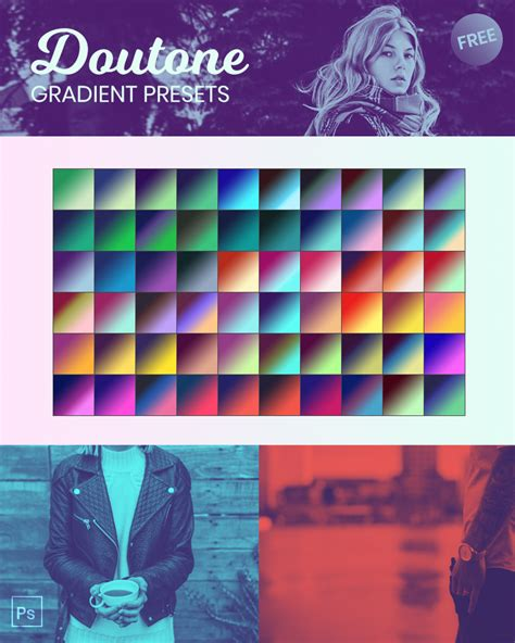 photoshop pattern presets free duotone photoshop gradient presets by naldzgraphics