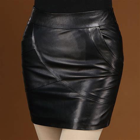real leather skirt dress ala